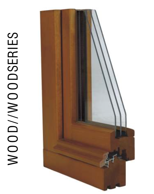 Mahogany Windows All Wood Series Bieber