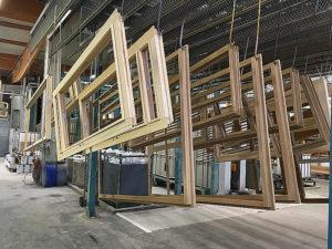 factory finish windows