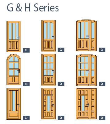 entrance doors - bieber | architectural windows and doors