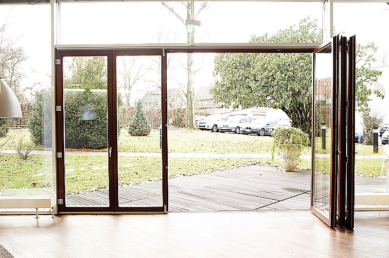 folding door large opening-S